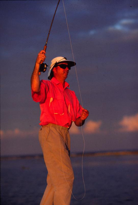 Late Day Bonefish Fly Fishing Turneffe Belize