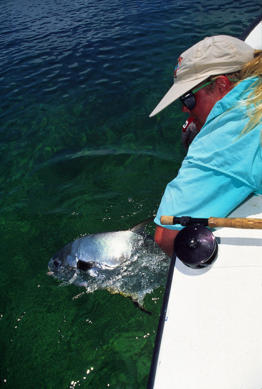Wendy Gunn Releases Fly Caught Permit