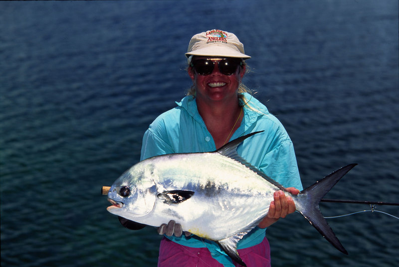 Wendy Gunn with Belize Permit