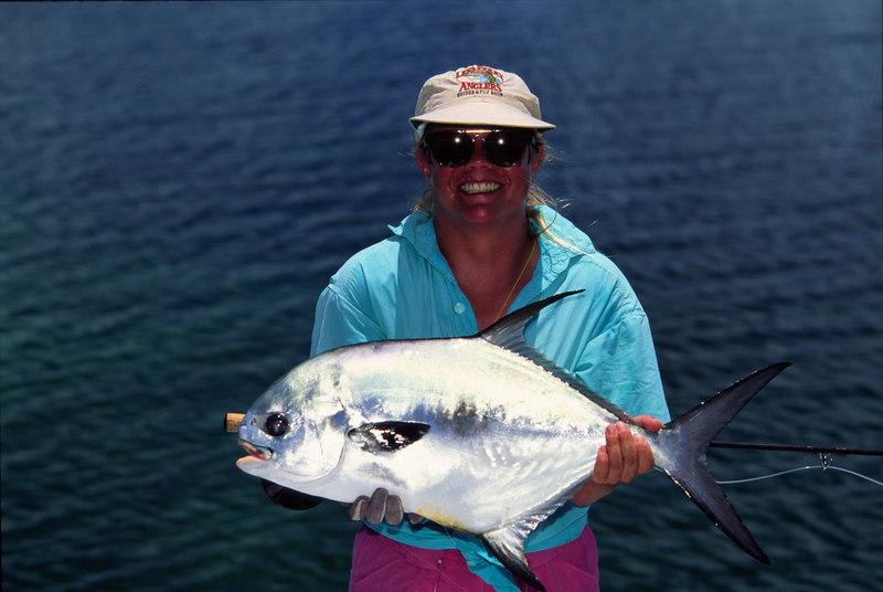 Wendy Gunn with Belize Permit