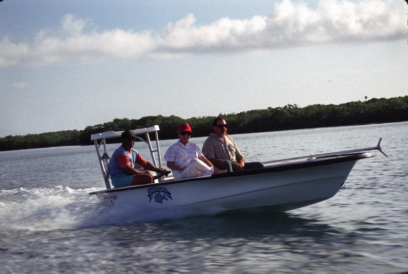 Flats Boat Fly Fishing Turneffe Belize