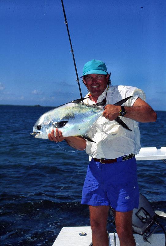 Terry Gunn Belize Permit Fly Fishing