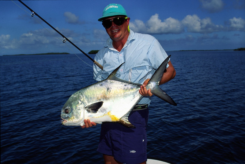 Terry Gunn Holding Belize Permit