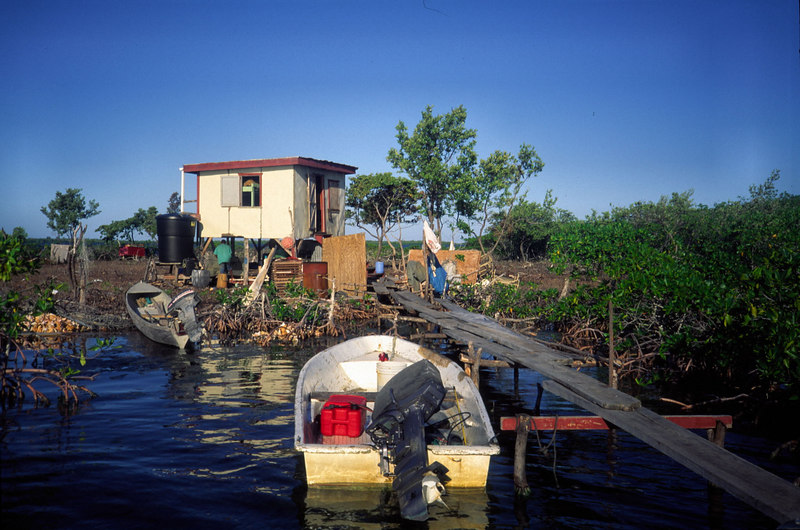 Lobster Camp<br />  Turneffe Belize