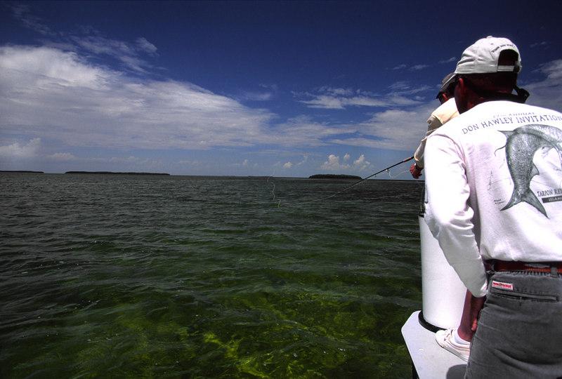 Wendy Gunn and Rick Murphy Tarpon Fly Fishing Florida Keys