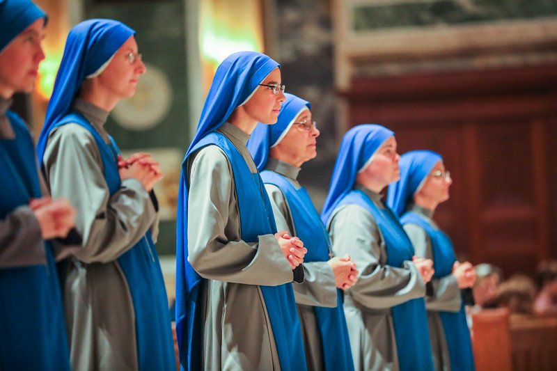 Mass and Perpetual Vows for SSVM Sisters