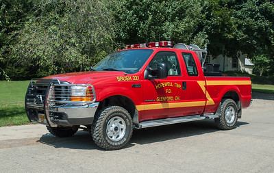 Hopewell Twp Fire Dept Brush 212 2015 Ford F-350 a