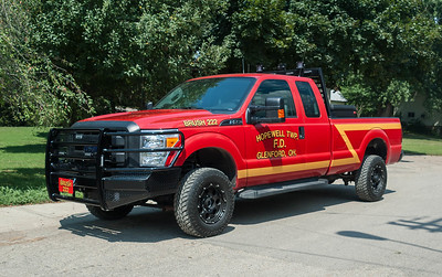 Hopewell Twp Fire Dept Brush 222 2015 Ford F-350 a