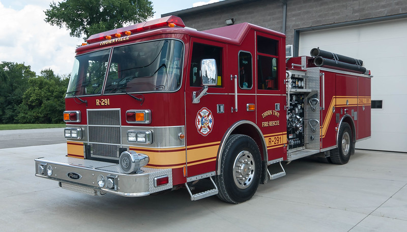Thornville Thorn Twp VFD R-291 2000 Pierce Saber 1500-1000 b