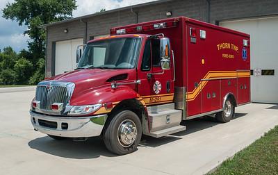 Thornville Thorn Twp VFD M-291 2004 MedTec Durastar IH-Navistar a