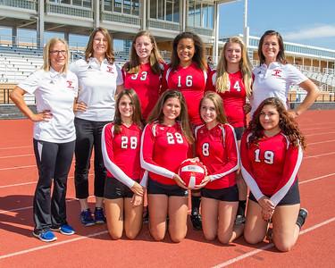 Girls 9th Grade Volleyball