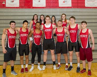 Boys Girls Track Seniors