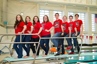Swim Team Seniors Fun1