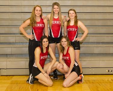 Girls Track Seniors