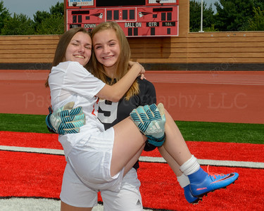 Soccer Girls Seniors Fun