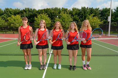Tennis Letter Winners