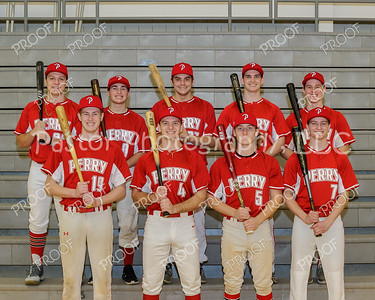 Varsity Baseball Seniors