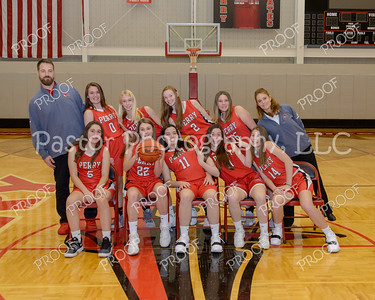 JV Girls Basketball fun