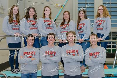 Seniors Swim Team