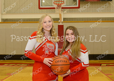 Cheer - Varsity Basketball Seniors