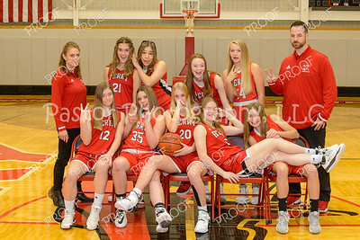 Girls JV Basketball Fun