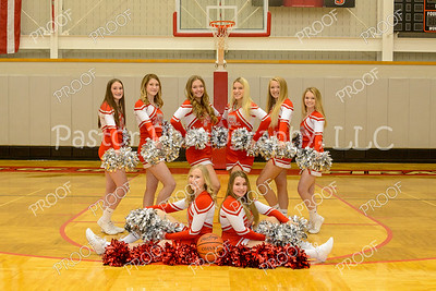 Cheer - Varsity Basketball