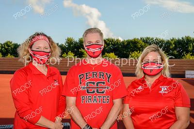 CC coaches masked
