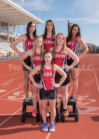 Track Girls Seniors