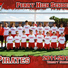 PHS Varsity Soccer 5x7 border