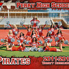 PHS Varsity Cheerleadersr 5x7 border
