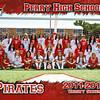 PHS Girls Varsity Soccer 5x7 border