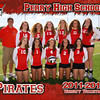 PHS Varsity Volleyball 5x7 border