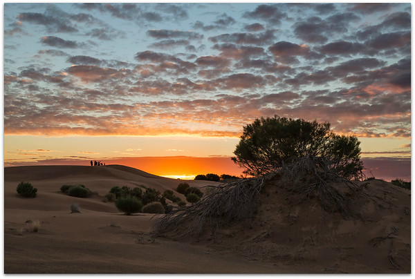 Perry Sand Hills  Sunset