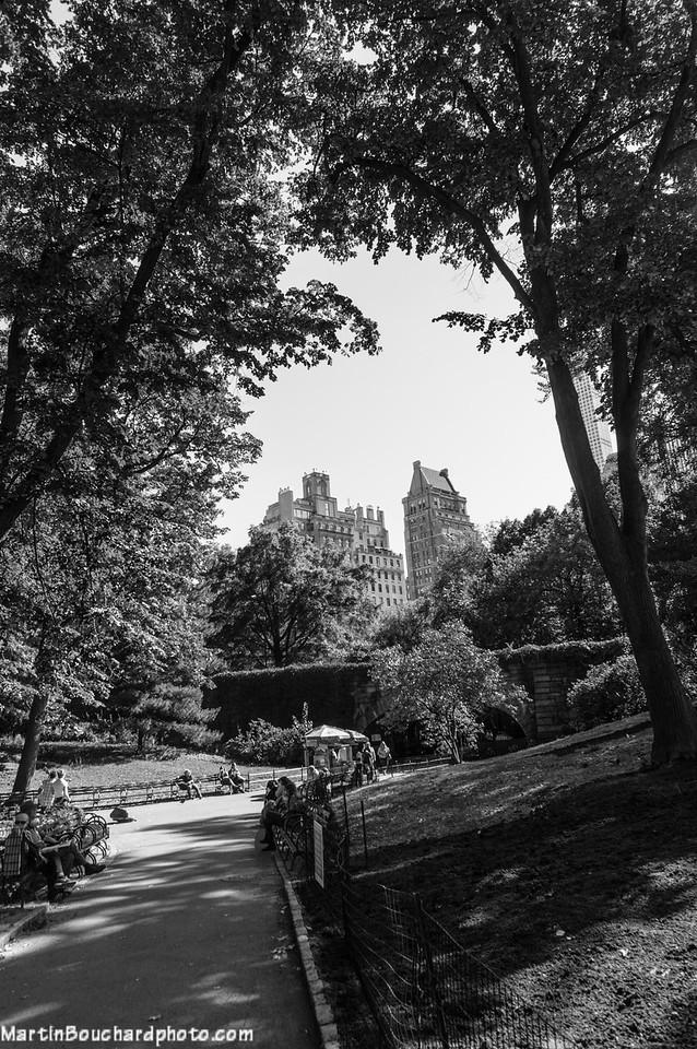 Après-midi à Central Park