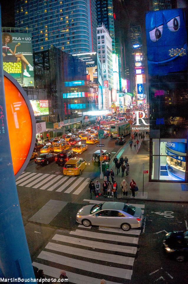 Vue sur Broadway