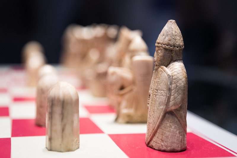 the lewis chessmen @ the british museum