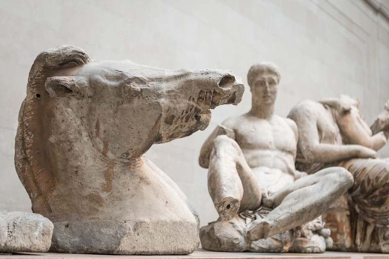 parthenon sculptures - elgin marbles @ the british museum