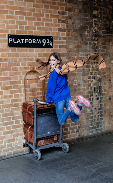 platform 9-3/4 @ king cross station