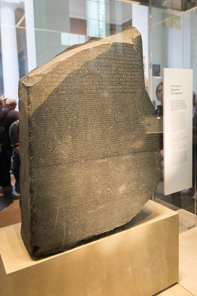 rosetta stone @ the british museum