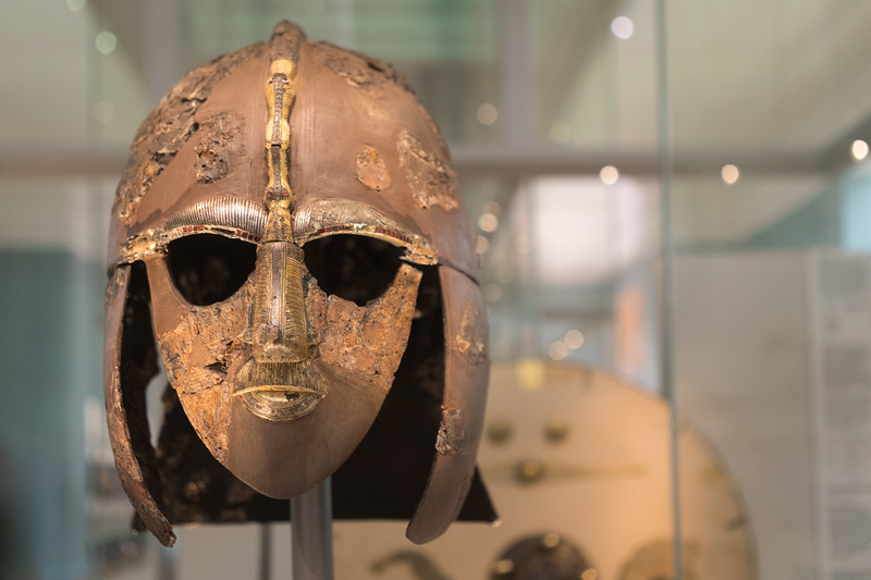 the sutton hoo ship burial @ the british museum