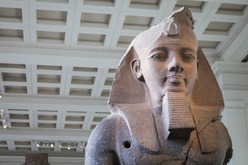 bust of ramesses the great @ the british museum