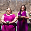 one of these bridesmaids like to lick things (she is an archeologist)