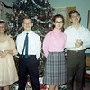Auntie Darlene, Uncle David, Auntie Linda, Dad (From Christmas '68)
