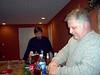 Dad as bar tender.