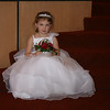 the flower girl looking cute