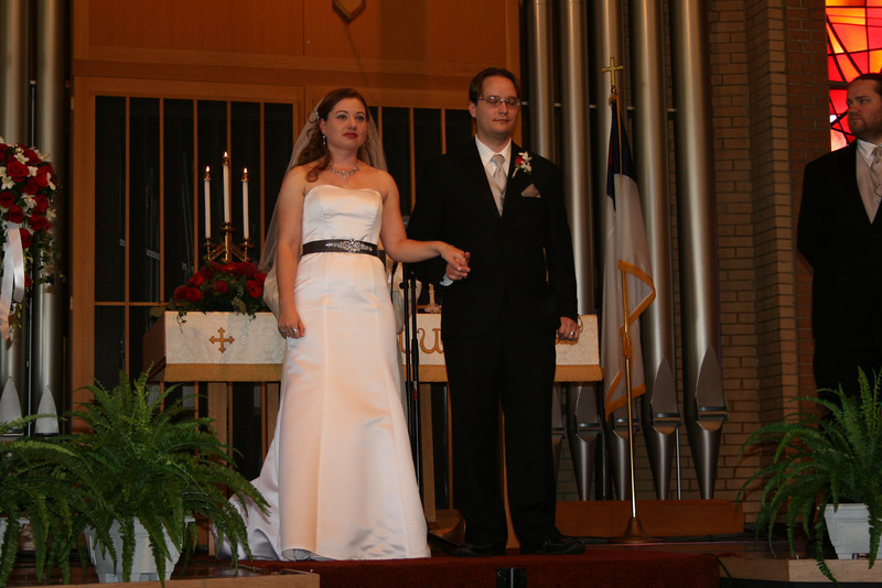 being presented as husband and wife