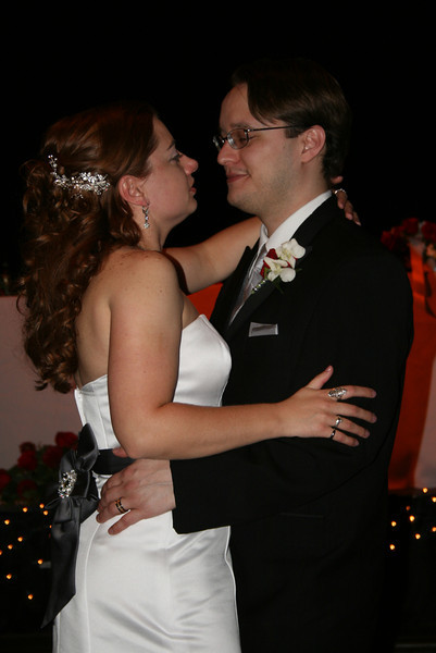 Jim and I during the first dance