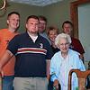 Grandma,  Jon, David, Uncle David, Aunt Karen,  Jeff  (Photo by Mom)
