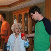 Grandma almost looks like a midget by Chris and David (photo by mom)