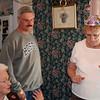 Gypsy Grandma, in the crown, Uncle Tom and Skipper Grandma.